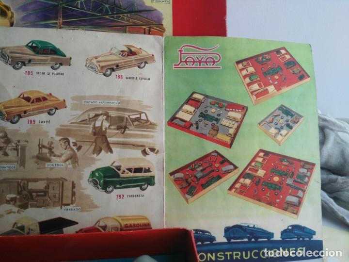 Juguetes antiguos Payá: ANTIGUO JUEGO DE CONSTRUCCIONES PAYA COCHES - Foto 10 - 147841022