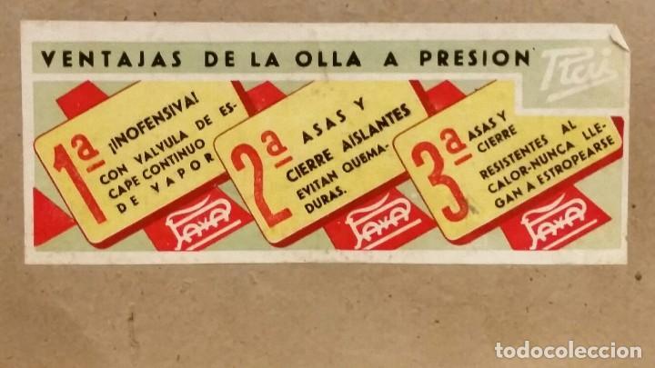 Juguetes antiguos Payá: CAJA DE TIENDA CON 6 OLLAS EXPRES RAI PAYÁ NUEVAS - Foto 6 - 149671218