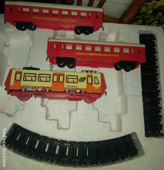 Juguetes antiguos Payá: Tren cercanias paya hojalata plastico - Foto 3 - 150149878