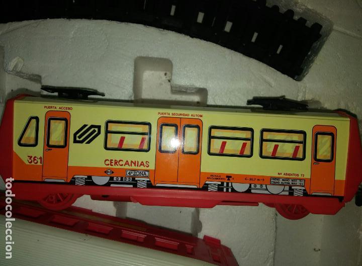 Juguetes antiguos Payá: Tren cercanias paya hojalata plastico - Foto 4 - 150149878