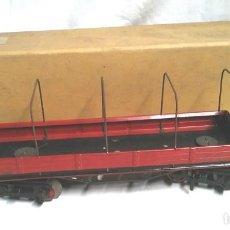 Altes Spielzeug Payá - Vagon Mercancias descubierto 8 ruedas Payá Ref 1353 Esc 0, no jugado resto tienda, con caja - 150778234