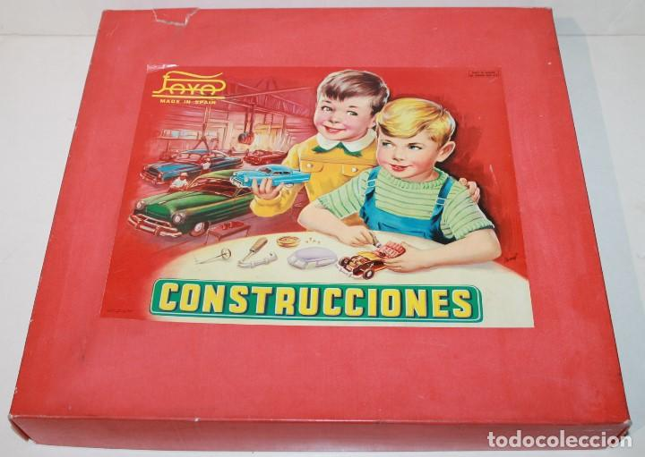 CAJA CONSTRUCCIONES PAYA 763 (Juguetes - Marcas Clásicas - Payá)