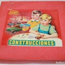 Juguetes antiguos Payá: CAJA CONSTRUCCIONES PAYA 763. Lote 152056014