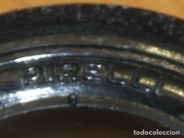 Juguetes antiguos Payá: Lote 5 neumaticos Paya años 60 para coche marca Pirelli - Foto 5 - 152358986