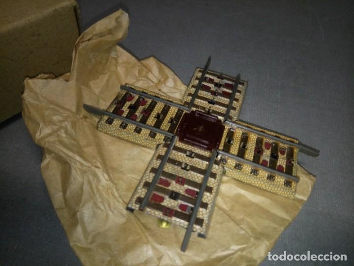 Juguetes antiguos Payá: 918- CRUCE METÁLICO LITOGRAFIADO PAYA H0 ( PVP UD) NUEVO/VIEJO STOCK Nº 21 - Foto 2 - 152404298
