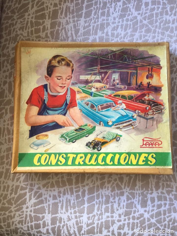 Juguetes antiguos Payá: Construcciones paya, falta mortor a cuerda - Foto 2 - 154124546