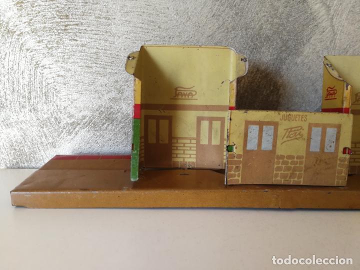 Juguetes antiguos Payá: ANTIGUA ESTACIÓN APEADERO DE HOJALATA PAYÁ RAI - Foto 8 - 154312646