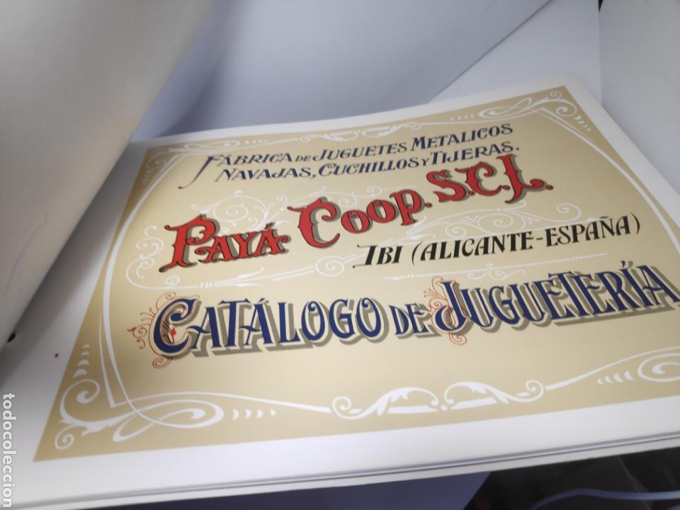 Juguetes antiguos Payá: PAYA CATALOGO IBI ALICANTE - Foto 2 - 163001666