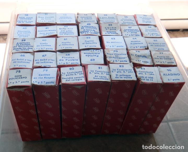 Juguetes antiguos Payá: LOTE DE 35 PELICULAS , PELICULA PAYA , DIFERENTES EN CAJA , VER FOTOS, NUMEROS , ORIGINALES. - Foto 2 - 165365246