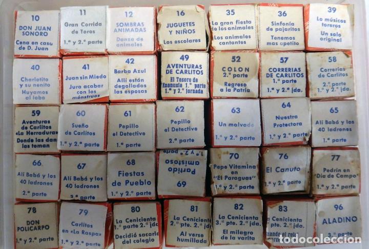 Juguetes antiguos Payá: LOTE DE 35 PELICULAS , PELICULA PAYA , DIFERENTES EN CAJA , VER FOTOS, NUMEROS , ORIGINALES. - Foto 4 - 165365246