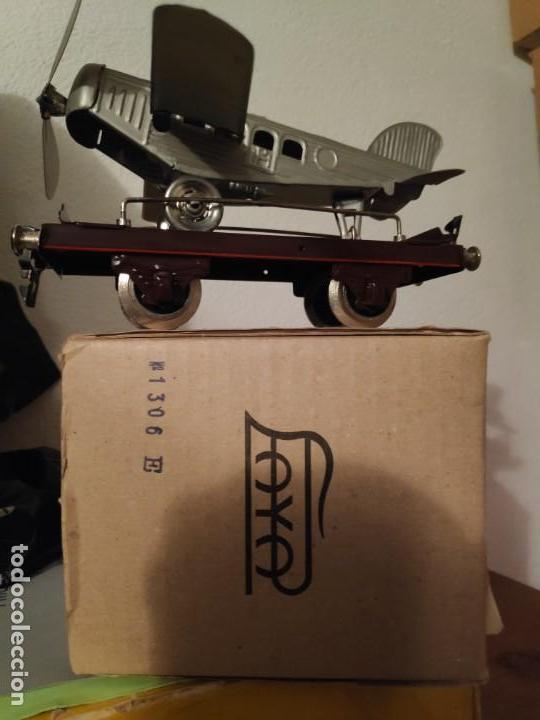 Juguetes antiguos Payá: Vagón con avión Payá - Foto 2 - 165874498