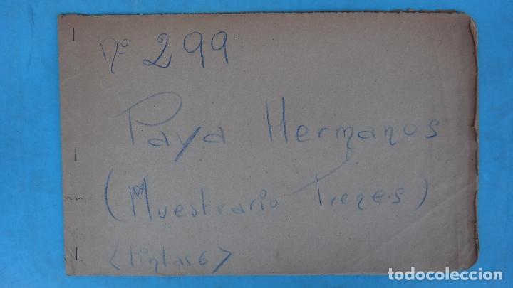 Juguetes antiguos Payá: CARTEL LAMINA, PRUEBAS COLOR IMPRENTA, PUBLICIDAD PAYA, MUESTRARIO TRENES FERROCARRIL ,ORIGINAL - Foto 2 - 166044146