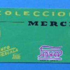 Juguetes antiguos Payá: COLECCION COCHES RENAULT MERCEDES BENZ, AUTO ESCALA PAYA - ORIGINAL PINTADO A MANO - AÑOS 1960-70. Lote 171625475