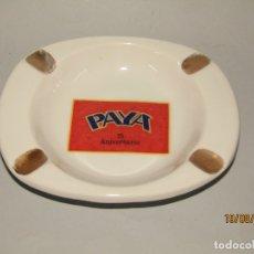 Juguetes antiguos Payá: ANTIGUO CENICERO DEL 75 ANIVERSARIO 1905-1980 DE JUGUETES PAYÁ EN IBI. Lote 175353912