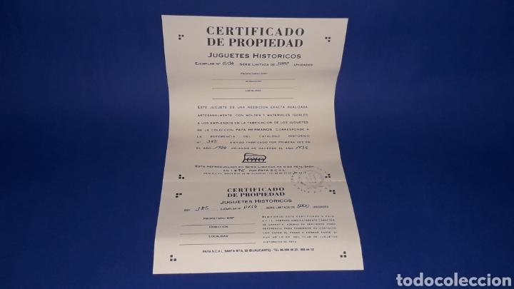 Juguetes antiguos Payá: Futbolista ref. 385, Paya Reedición serie numerada Juguete Histórico, Ibi Alicante España. Año 1996. - Foto 4 - 175410630
