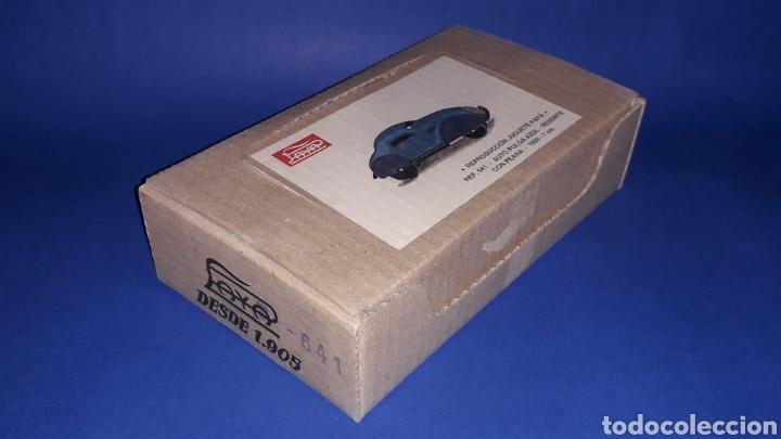Juguetes antiguos Payá: Auto Pulga ref. 641, Paya Reedición serie numerada Juguete Histórico, Ibi Alicante España. Año 1998. - Foto 6 - 175412249