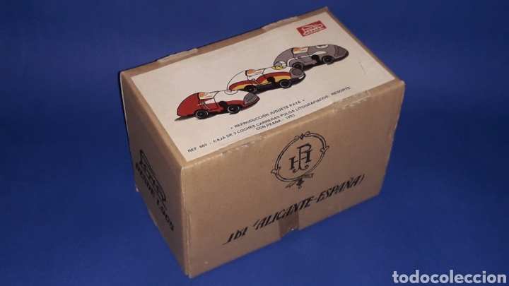 Juguetes antiguos Payá: Coches Carreras Pulga 665, Paya Reedición numerada Juguete Histórico, Ibi Alicante España. Año 1998. - Foto 7 - 175412749