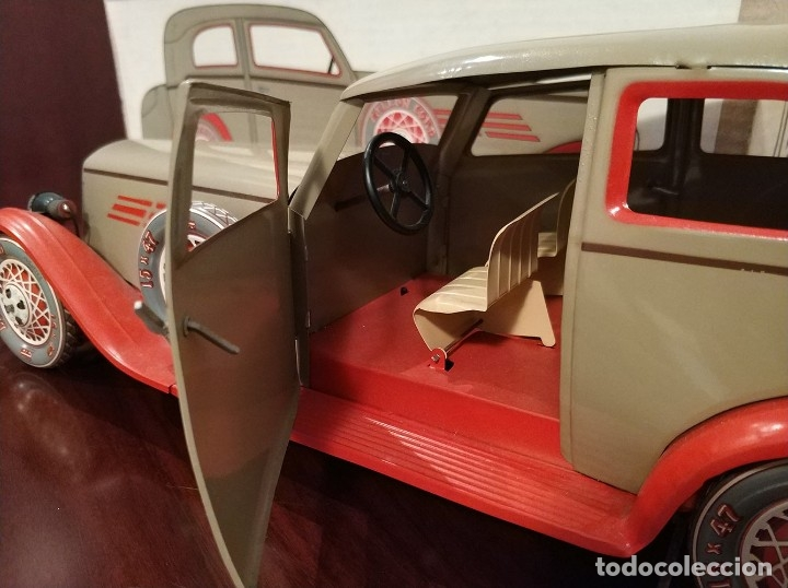 Juguetes antiguos Payá: Auto sedan gran turismo 1935 Ref. 904 de paya edición limitada numerada y en caja, cuerda y luces - Foto 5 - 176091484