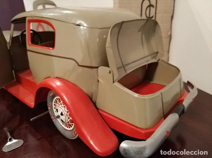 Juguetes antiguos Payá: Auto sedan gran turismo 1935 Ref. 904 de paya edición limitada numerada y en caja, cuerda y luces - Foto 6 - 176091484