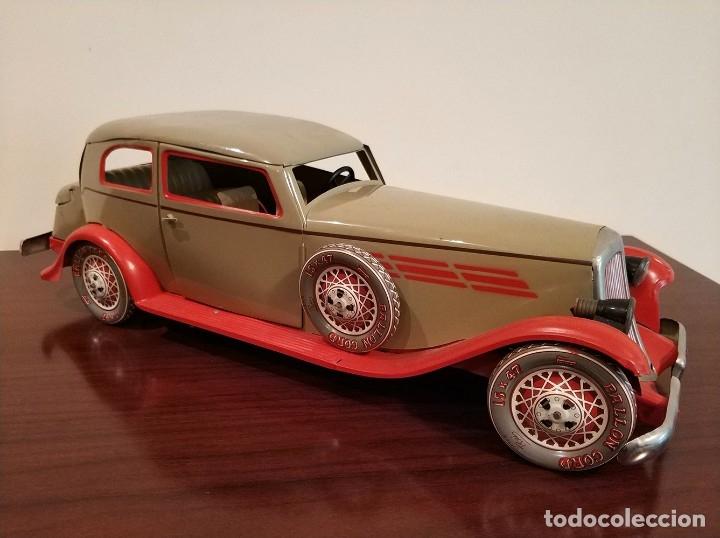 Juguetes antiguos Payá: Auto sedan gran turismo 1935 Ref. 904 de paya edición limitada numerada y en caja, cuerda y luces - Foto 10 - 176091484