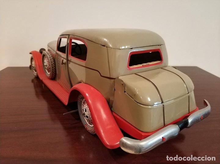 Juguetes antiguos Payá: Auto sedan gran turismo 1935 Ref. 904 de paya edición limitada numerada y en caja, cuerda y luces - Foto 11 - 176091484