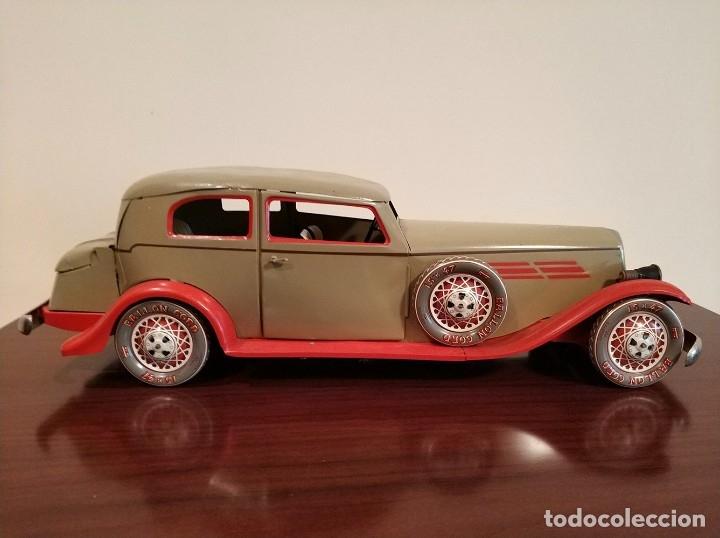 Juguetes antiguos Payá: Auto sedan gran turismo 1935 Ref. 904 de paya edición limitada numerada y en caja, cuerda y luces - Foto 12 - 176091484