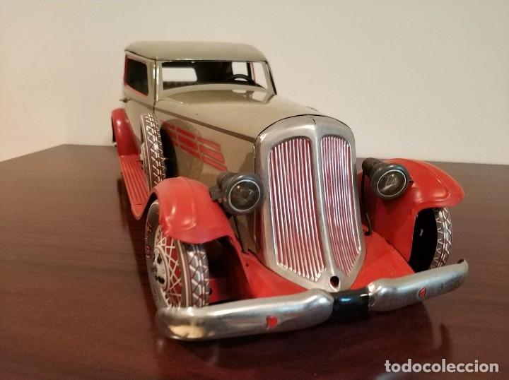 Juguetes antiguos Payá: Auto sedan gran turismo 1935 Ref. 904 de paya edición limitada numerada y en caja, cuerda y luces - Foto 14 - 176091484