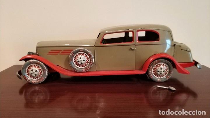 Juguetes antiguos Payá: Auto sedan gran turismo 1935 Ref. 904 de paya edición limitada numerada y en caja, cuerda y luces - Foto 17 - 176091484