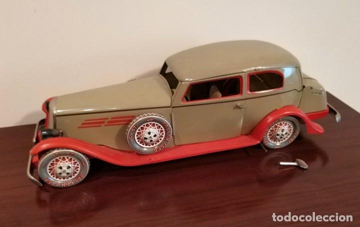 Juguetes antiguos Payá: Auto sedan gran turismo 1935 Ref. 904 de paya edición limitada numerada y en caja, cuerda y luces - Foto 18 - 176091484