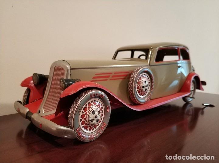 Juguetes antiguos Payá: Auto sedan gran turismo 1935 Ref. 904 de paya edición limitada numerada y en caja, cuerda y luces - Foto 19 - 176091484