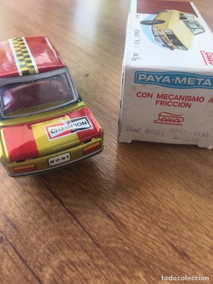 Juguetes antiguos Payá: Coche Paya Metal Seat 1430 Rallye, ref.8051 - Foto 3 - 176966472