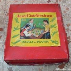 Juguetes antiguos Payá: AEROCLUB ELÉCTRICO DE PAYÁ,ESCUELA DE PILOTOS,CAJA ORIGINAL,FINALES AÑOS 50. Lote 178786590