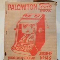 Juguetes antiguos Payá: PALOMITÓN DE PAYÁ AÑOS 60.. Lote 179022912