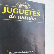 Juguetes antiguos Payá: FASCÍCULO DE JUGUETES DE ANTAÑO PAYÁ - DESCAPOTABLE DOBLE FAETÓN 1925 - RBA. . Lote 180023716