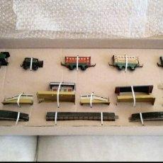 Juguetes antiguos Payá: PAYA, CAJA FERROCARRIL VIAJEROS REFERENCIA 874. NUEVO. Lote 180326887