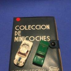 Juguetes antiguos Payá: CAJA MALETÍN COLECCIÓN DE MINICOCHES PAYÁ. INTERNATIONAL. CON 2 COCHES.. Lote 180480243