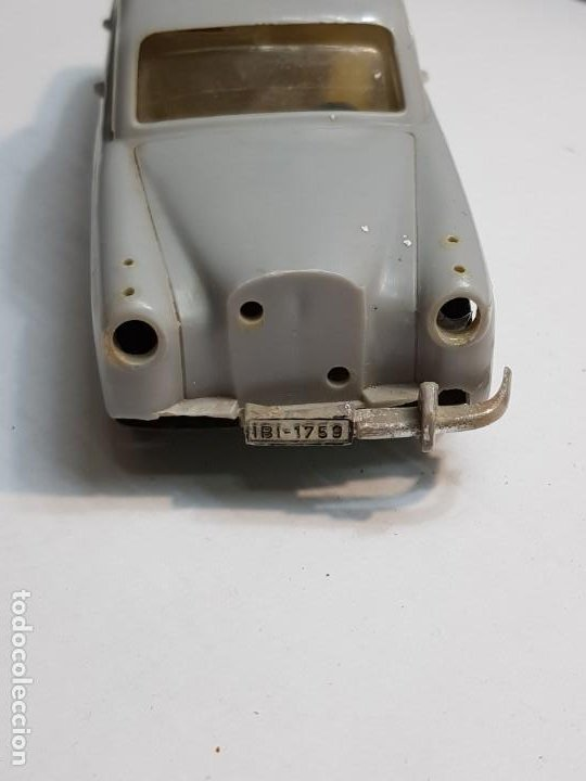 Juguetes antiguos Payá: Coche Mercedes 220 S de Paya Gris totalmente original - Foto 3 - 183543216