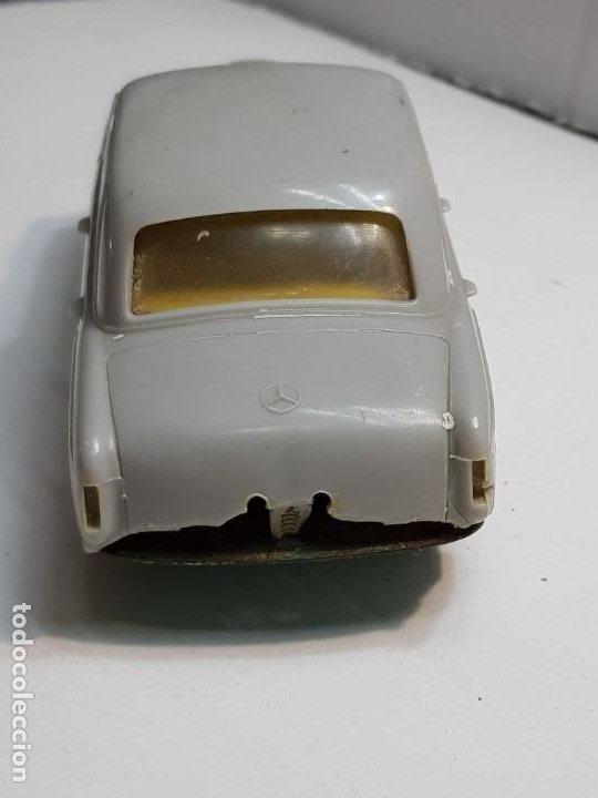 Juguetes antiguos Payá: Coche Mercedes 220 S de Paya Gris totalmente original - Foto 4 - 183543216