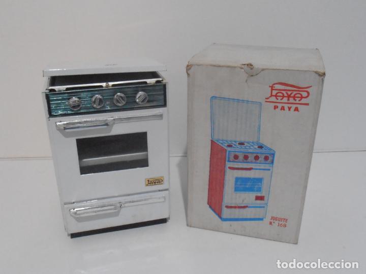 COCINA ELECTRICA CON PARRILLA Y HORNO COPARRILLA PAYA, CAJA ORIGINAL, AÑOS 70 (Juguetes - Marcas Clásicas - Payá)