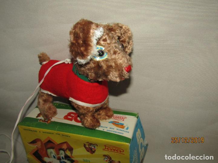 Juguetes antiguos Payá: Antiguo Perro Cachorro Juguetón con Luz en los Ojos BOB Fabricado por Juguetes PAYÁ - Foto 2 - 189355247