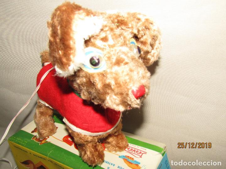 Juguetes antiguos Payá: Antiguo Perro Cachorro Juguetón con Luz en los Ojos BOB Fabricado por Juguetes PAYÁ - Foto 8 - 189355247