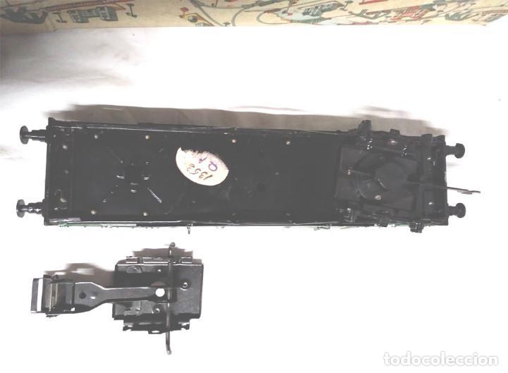 Juguetes antiguos Payá: Vagón Mercancias Carbón de Payá 4 ejes Escala 0 años 40, no jugado con caja. Med. 29 cm - Foto 5 - 189462877