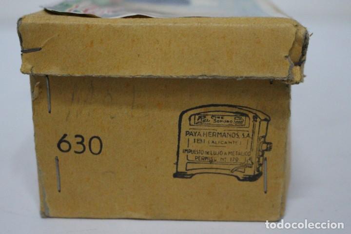 Juguetes antiguos Payá: Lancha 630 Payá con caja original. Años 50. impecable - Foto 2 - 190639463
