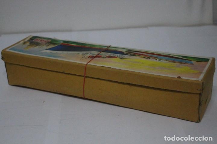 Juguetes antiguos Payá: Lancha 630 Payá con caja original. Años 50. impecable - Foto 16 - 190639463