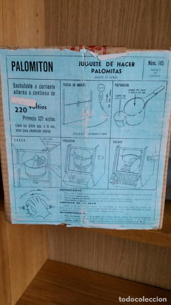 Juguetes antiguos Payá: PALOMITON PAYÁ EN CAJA FUNCIONANDO BOLSAS SIN ABRIR - Foto 4 - 191073890