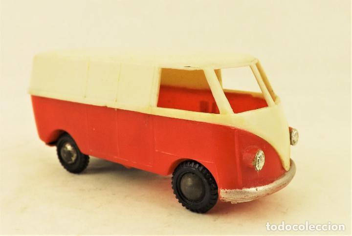 Juguetes antiguos Payá: Paya Volkswagen Samba furgoneta cerrada ref 3017 - Foto 3 - 192135848