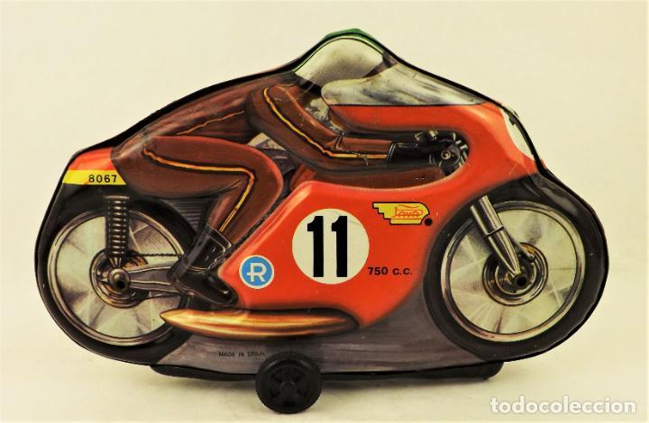 Juguetes antiguos Payá: Paya Moto chapa original ref 8067 - Foto 2 - 192137728