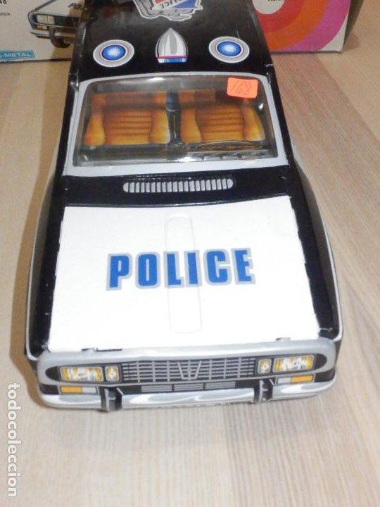 Juguetes antiguos Payá: Coche Payá de hojalata - Renault R-12-S Policia - Police - Nº 247 Ref. 8048 - Fricción - Con caja - Foto 4 - 194143141