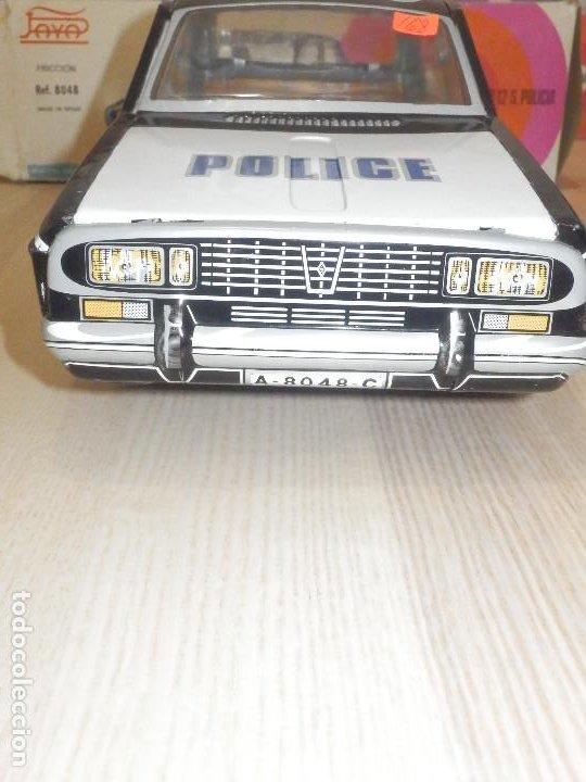 Juguetes antiguos Payá: Coche Payá de hojalata - Renault R-12-S Policia - Police - Nº 247 Ref. 8048 - Fricción - Con caja - Foto 5 - 194143141