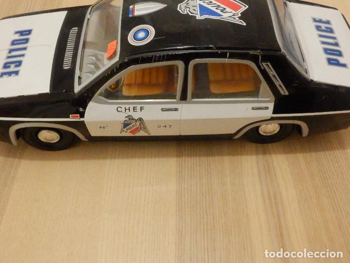 Juguetes antiguos Payá: Coche Payá de hojalata - Renault R-12-S Policia - Police - Nº 247 Ref. 8048 - Fricción - Con caja - Foto 6 - 194143141